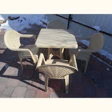 "<b>Комплект</b> пластиковой <b>мебели</b> стол квадратный ""Таволи ..."