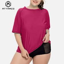<b>Attraco Women</b> Long <b>Rashguard</b> Swimsuit Shirts UPF 50+ <b>Womens</b> ...
