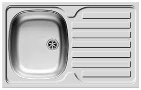 Накладная <b>кухонная мойка Pyramis</b> International (80x60) 1B 1D ...