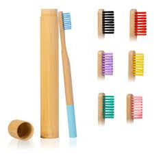 """2 шт. упаковка <b>мягкая</b> зубная <b>щетка</b> """"Радуга"""" бамбуковая трубка ..."""