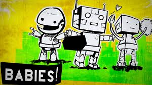 Image result for robots having babies