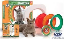 Cистема для приучения кошки к туалету <b>Litter Kwitter</b>