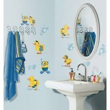 kids bathroom wall decor image is loading  new bubble bath wall decals baby ducks
