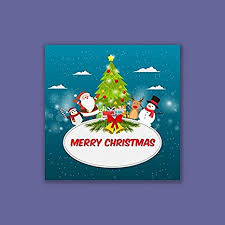 Buy 999Store Merry <b>Christmas Santa</b> Claus Tree Greetings for ...
