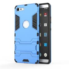 LHXD Protective Hard <b>PC</b> and <b>Soft TPU</b> Armor Case with Kickstand ...