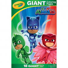 <b>Crayola</b> PJ Masks Giant Color Pages