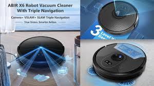 <b>ABIR X6 Robot Vacuum</b> Cleaner | Best Budget Smart Vacuum ...