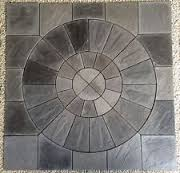 patio slab sets: patio slabs circle kits mceuueqoy gwxopcsnvw patio slabs circle kits