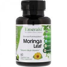 <b>Моринга</b> масличная Emerald Laboratories, <b>Лист моринга</b>, <b>60</b> ...