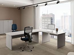 compact office desk. lshaped melaminefaced chipboard workstation desk compact office compact collection by arcadia p