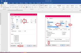 ms word how to set default page setup margin font size style ms word how to set default page setup margin font size style word 2007 2016