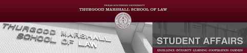 student affairs at thurgood marshall school of law in houston texas dannnye k holley dean and professor of law