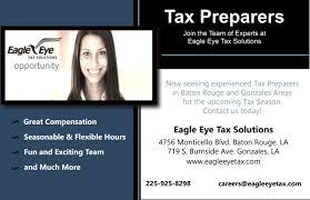 eagle eye tax solutions careers careers at eagleeye