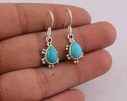 Gemstone earrings | Etsy