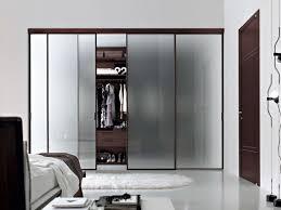 Sliding Door Bedroom Furniture Bedroom Excellent Brown Wood Laminated Sliding Door Wardrobe