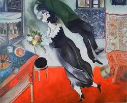 Картины (живопись) : Копия картины М.Шагала <b>&quot</b>;День ...