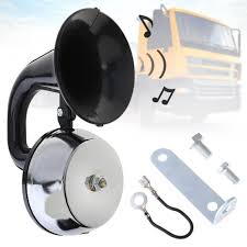 <b>12V</b> / <b>24V 126DB</b> ABS Universal <b>Super</b> Loud Air Horn Waterproof ...