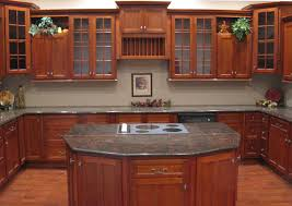 Small Picture Cherry Shaker Kitchen Cabinets Home Design Traditional Kitchen