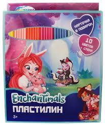 <b>Пластилин CENTRUM</b> Enchantimals 10 цветов (88616) — купить ...