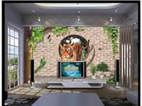 Discount Tiger Murals | Tiger Wall Murals 2018 on Sale at DHgate.com