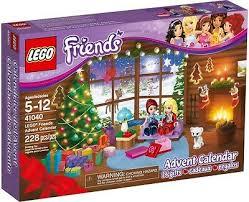 Sealed LEGO Friends 41040 Advent Calendar <b>2014 NEW FREE</b> ...