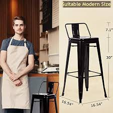Counter <b>Bar Stools</b> Industrial Set of <b>2</b> C- Buy Online in Malta at ...