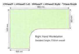 office desk dimensions. standard office desk height us australian cm dimensions