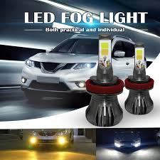 2x HB4 9006 15W <b>High Bright Car LED</b> Bulbs 5730 15-SMD ...