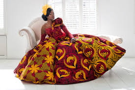 <b>African wedding dresses</b> by Vlisco - become a unforgettable bride