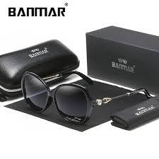 <b>BANMAR Brand Design</b> Rhinestone <b>Polarized</b> Sunglasses Women ...