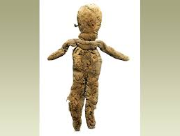 BBC   Primary History   Romans   Family and children A rag doll  made in Egypt for a Roman child  It once had bits
