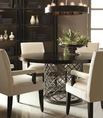 table fascinating hand hammered stainless  images about round dining table on pinterest cabin rivers and heather