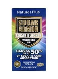Shop Nature's Plus <b>Sugar Armor Sugar Blocker Weight</b> Loss Aid ...