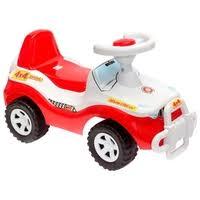 <b>Каталка</b>-толокар <b>Orion Toys Джипик</b> (105) со звуковыми ...