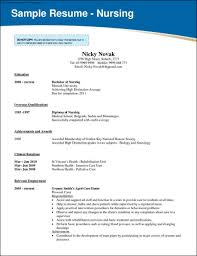 nursing school resume template samples examples format nursing school resume template