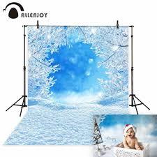 <b>Allenjoy</b> winter wonderland <b>photography background</b> photophone ...