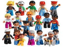 <b>Конструктор Lego Duplo</b> Городские жители 45010 кем работают ...