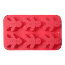 <b>Форма для выпечки</b> на 6 кексов <b>Walmer Gingerman</b>, цвет красный ...