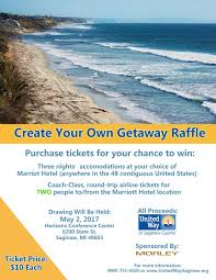 create your own getaway raffle united way of saginaw county help your community by purchasing a 10 raffle ticket now through 1 a special thank you to morley for donating this prize to united way