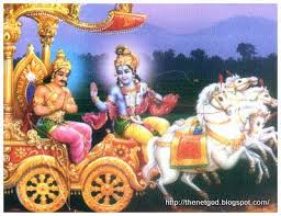 Image result for Lord Krishna's Geethopadesam