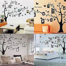 <b>Removable</b> Black Family Tree Sticker Wall Decal <b>Vinyl</b> Mural <b>Art</b> DIY ...
