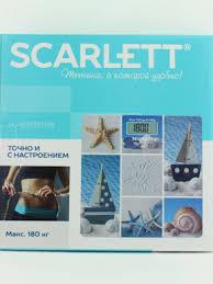Купить <b>Весы напольные SCARLETT</b>, <b>SC - BS33E078</b> ...
