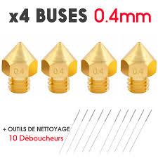 X4 Nozzle 0.4mm Nozzle For <b>Alfawise</b> U30/U30 Pro Printer <b>3D</b> ...