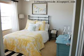 yellow and gray bedroom: bedroomlife on the v side agreeable gray ideal yellow and gray bedroom