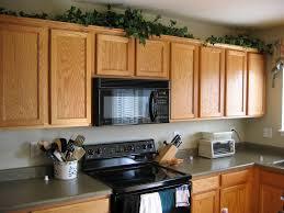 For Decorating A Kitchen Kitchen Top Cabinet Decor Miserv