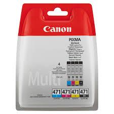 <b>Картридж</b> для струйного принтера <b>Canon CLI</b>-471 Multipack (<b>C</b>/<b>M</b> ...