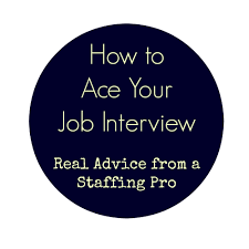 write31days how to ace your job interview how to ace your job interview real advice from a staffing pro
