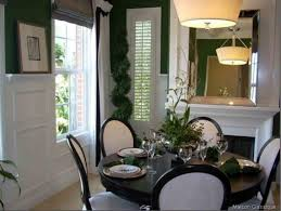 dining room table mirror top: inspirative black dining room sets with black round table and decorative ceiling lamp and large mirror