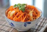 Корейская морковка с кальмарами рецепт