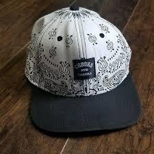 <b>Crooks</b> and <b>Castles шапка</b> черно-белая бандана выглядеть кепка ...